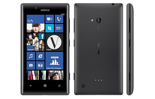 Nokia Lumia 720 (schwarz) bei yourfone mit / ohne Vertrag