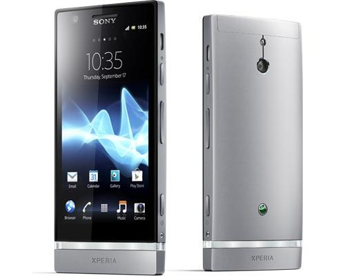Sony Xperia™ P (grau / schwarz) bei yourfone mit / ohne Vertrag