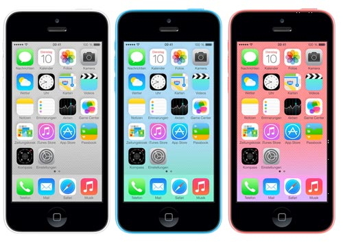 Apple iPhone 5C ohne / mit yourfone Allnet Flat Tarif