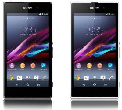 Sony Xperia Z1 ohne / mit yourfone Allnet Flat Handyvertrag